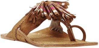 Figue Camel Suede Sandals