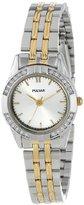Pulsar Women's PRS659X Analog Display Japanese Quartz Two Tone Watch