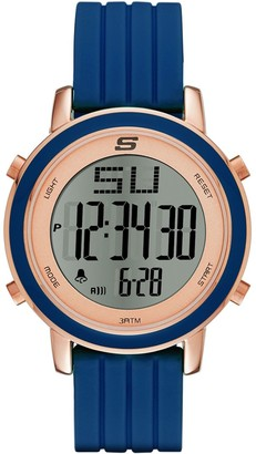 Skechers Women's Westport Silicone Strap Chronograph Watch