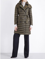 Burberry Chesterford double-breasted quilted coat