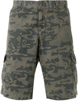 Woolrich camouflage-print cargo shorts