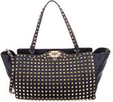 Valentino Allover Stud Shopper