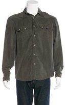 John Varvatos Silk Woven Shirt