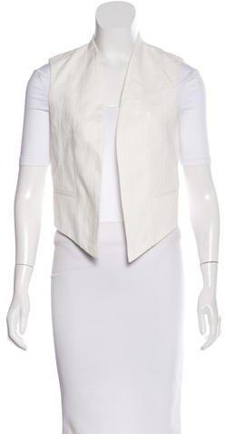 Brunello Cucinelli Embellished Cropped Vest