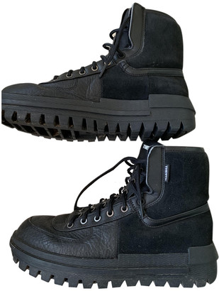 Nike Black Synthetic Boots