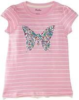 Hatley Girls Graphic Pretty Butterfly T-Shirt