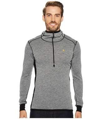 Fjallraven Bergtagen Woolterry Hoodie (Grey) Men's Sweatshirt