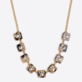 J.Crew Factory Tortoise crystal necklace
