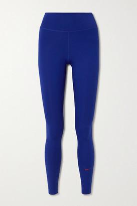 Nike One Luxe Dri-fit Leggings - Cobalt blue