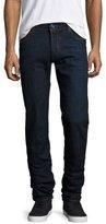 Jacob Cohen Dark-Wash Slim-Fit Stretch-Denim Jeans, Navy