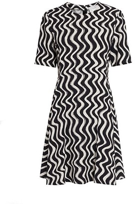 Stella McCartney Liana Printed Shift Dress