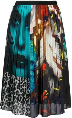 Paul Smith Printed Pleated Skirt