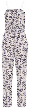 Etoile Isabel Marant Timea floral cotton jumpsuit