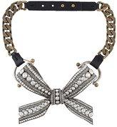 Lanvin bow detail necklace