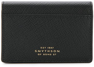 Smythson Snap Button Wallet