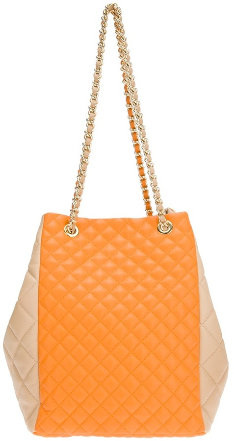 Moschino Cheap & Chic quilted tote bag