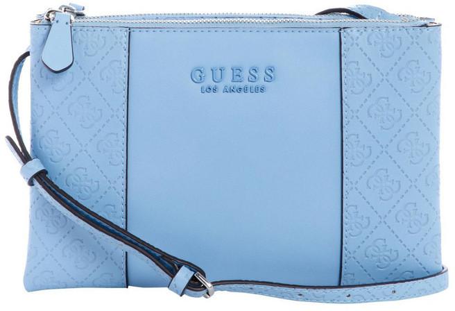 GUESS SY745270SKY Wilder Zip Top Crossbody Bag