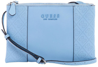GUESS SY745270SKY Wilder Zip Top Crossbody Bag