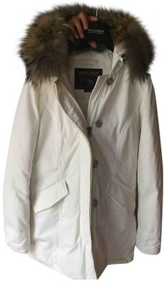 Woolrich White Coat for Women