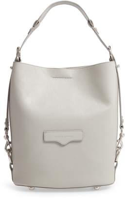 Rebecca Minkoff Utility Convertible Leather Bucket Bag