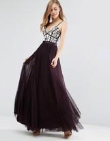 Needle & Thread Motif Tulle Maxi Dress