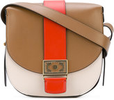 Etro buckle strap shoulder bag - women - Leather - One Size