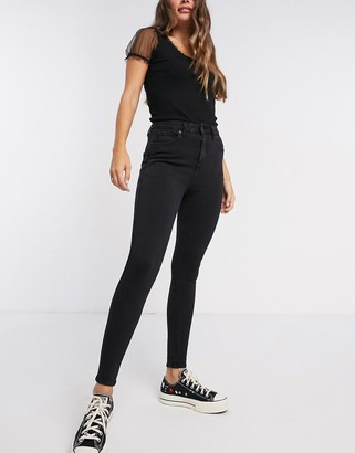 New Look contour super skinny jeans in black