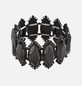 Avenue Faceted Oval Stretch Bracelet