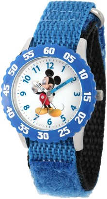 Disney Mickey Mouse Boy's Blue Bezel Watch