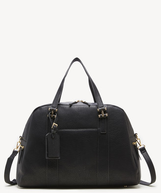 Sole Society Women's March Weekender Faux Leather Weekeneder In Color: Black Bag From