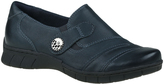 Earthies Pacific Blue Leather Naya Loafer
