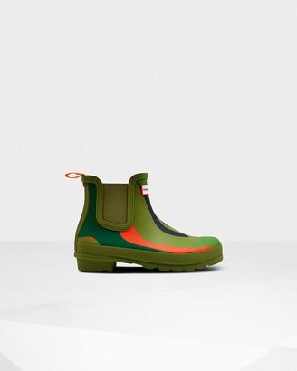 Hunter Women's Original Rockpool Camo Chelsea Boots