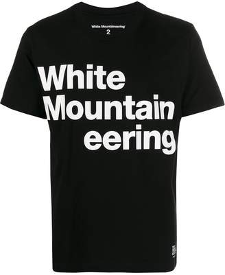 White Mountaineering logo jersey T-shirt