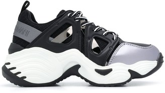 Emporio Armani Chunky Sole Low-Top Sneakers