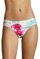 6 Shore Road Diablo Floral-Print Bikini Bottom