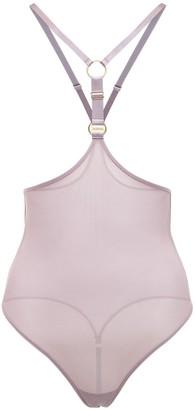 Bordelle Rey Recycled Mesh Open Bodysuit