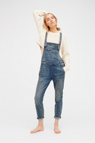 Womens Washed Denim Overall