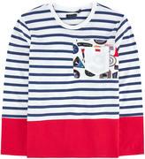 Ikks Fancy navy T-shirt