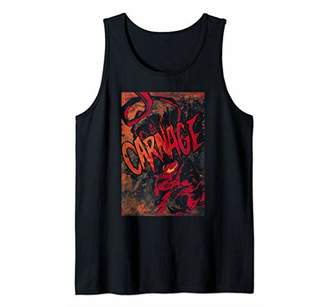Marvel Carnage Out Portrait Logo Tank Top