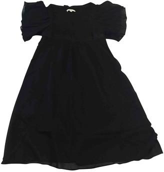 Vanessa Bruno Black Silk Dresses