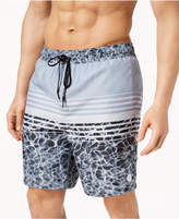 "Calvin Klein Men's Printed 7"" Swim Trunks"