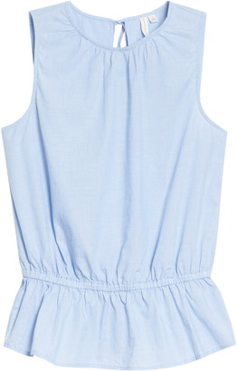Treasure & Bond Sleeveless Peplum Top