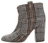 Laurence Dacade Woven Ankle Boots