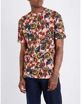 McQ by Alexander McQueen Floral-print cotton-jersey T-shirt