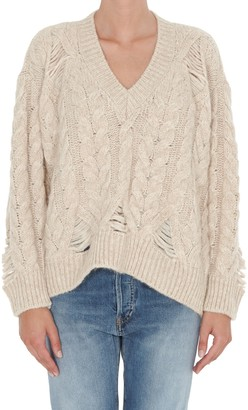 Stella McCartney V-Neck Knitted Sweater