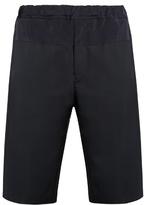 Oamc High-rise wool-blend shorts