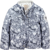 GUESS Light grey diamond print jacket