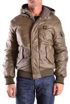 Refrigiwear Men's Green Polyamide Outerwear Jacket.