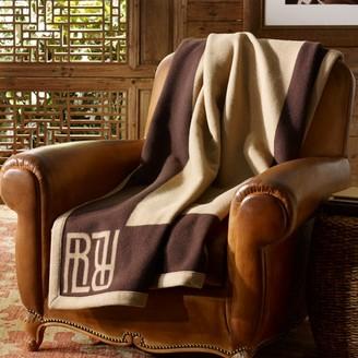 Ralph Lauren Montclair Wool Throw Blanket