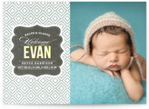 Minted Vintage Paper Birth Announcements